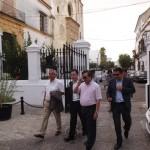Visita al palacio de Medina Sidonia del embajador Chino