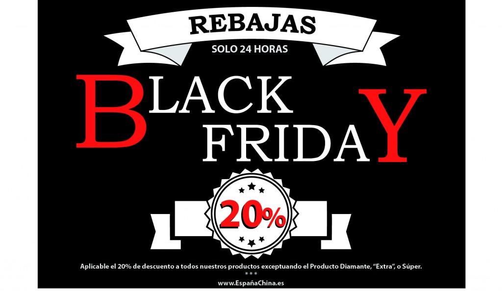 Rebajas de Black Friday en EspañaChina