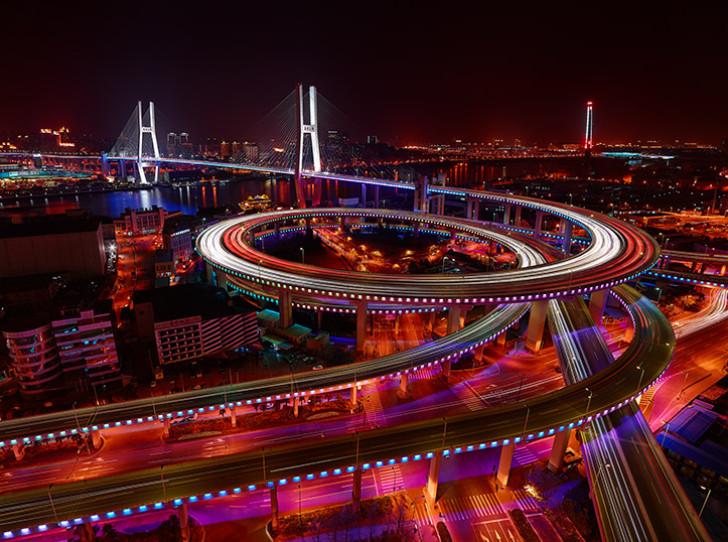 Puente Nanpu, Shanghái
