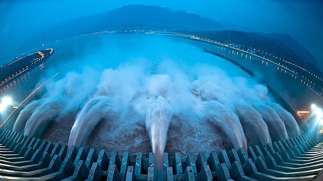 La Presa de las Tres Gargantas, en Hubei