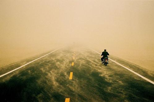 Autopista del desierto de Tarim