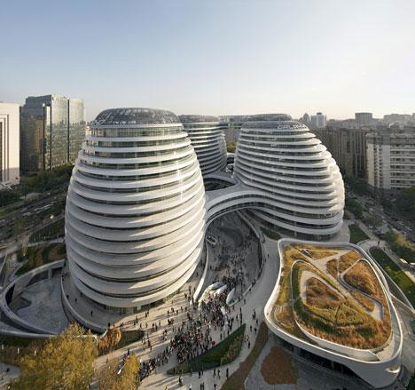 La imaginación de los arquitectos en China