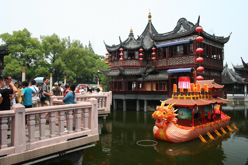 Viaje a Shanghái: Jardín Yuyuan