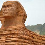 China destruye su polémica réplica de la Gran Esfinge de Guiza