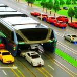 El autobús del futuro llegará a China para evitar los atascos