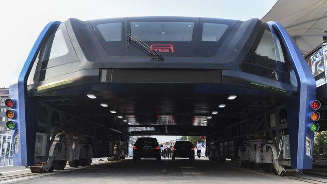 autobús del futuro