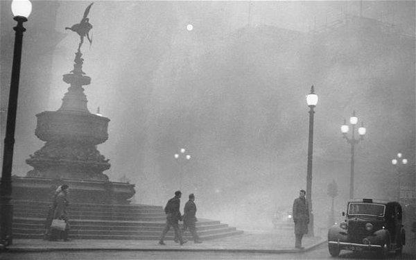 Niebla toxica de Londres en 1952
