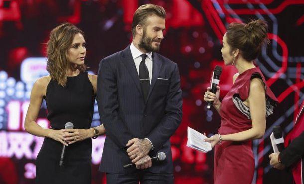 David y Victoria Beckham en el evento. Fuente: http://mm.servidornoticias.com/photos/t_610_370/777/12309876w.jpg