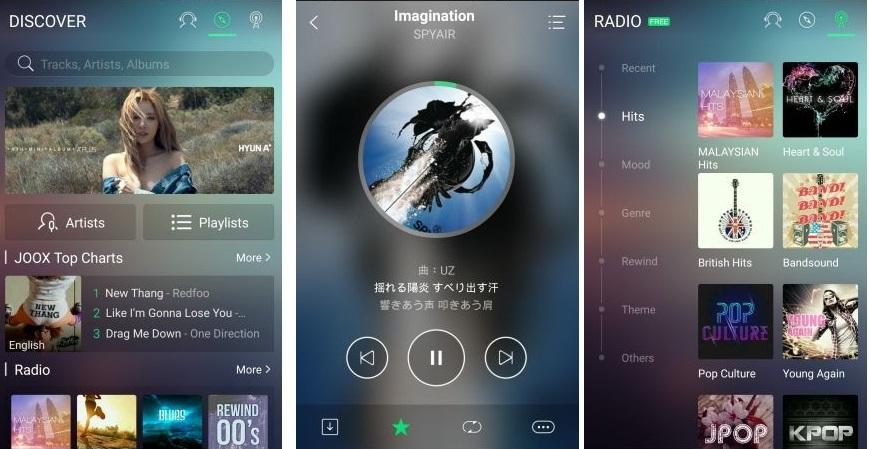 joox-sotify-apple-music-competencia-china