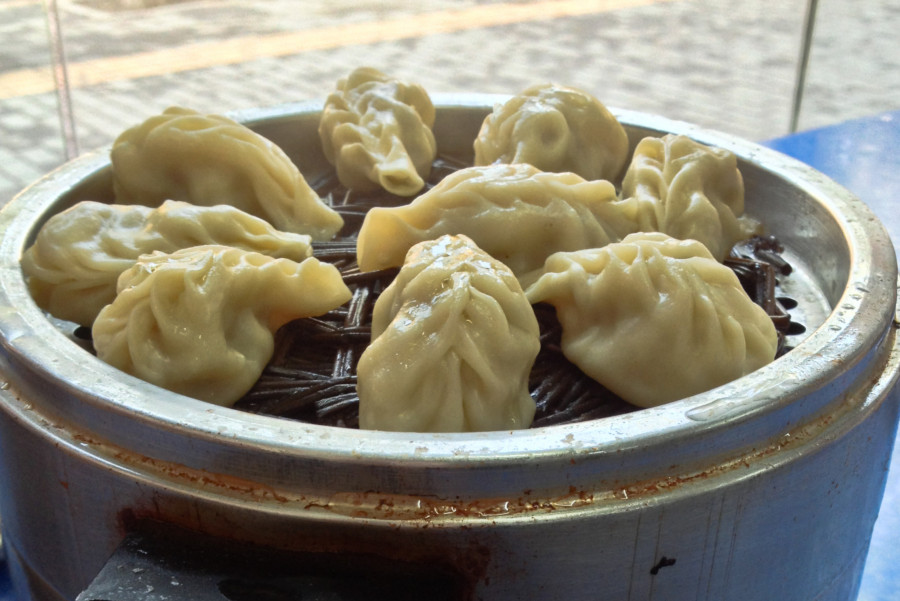 comida china tradicional dumplings