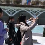 España recibió más de 200.000 turistas chinos hasta octubre, un 33% más