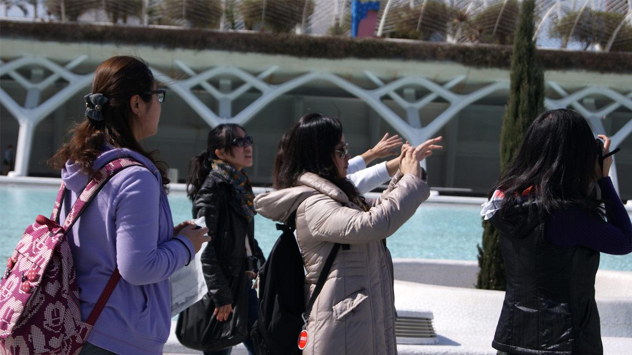 turistas chinos | españachina.es