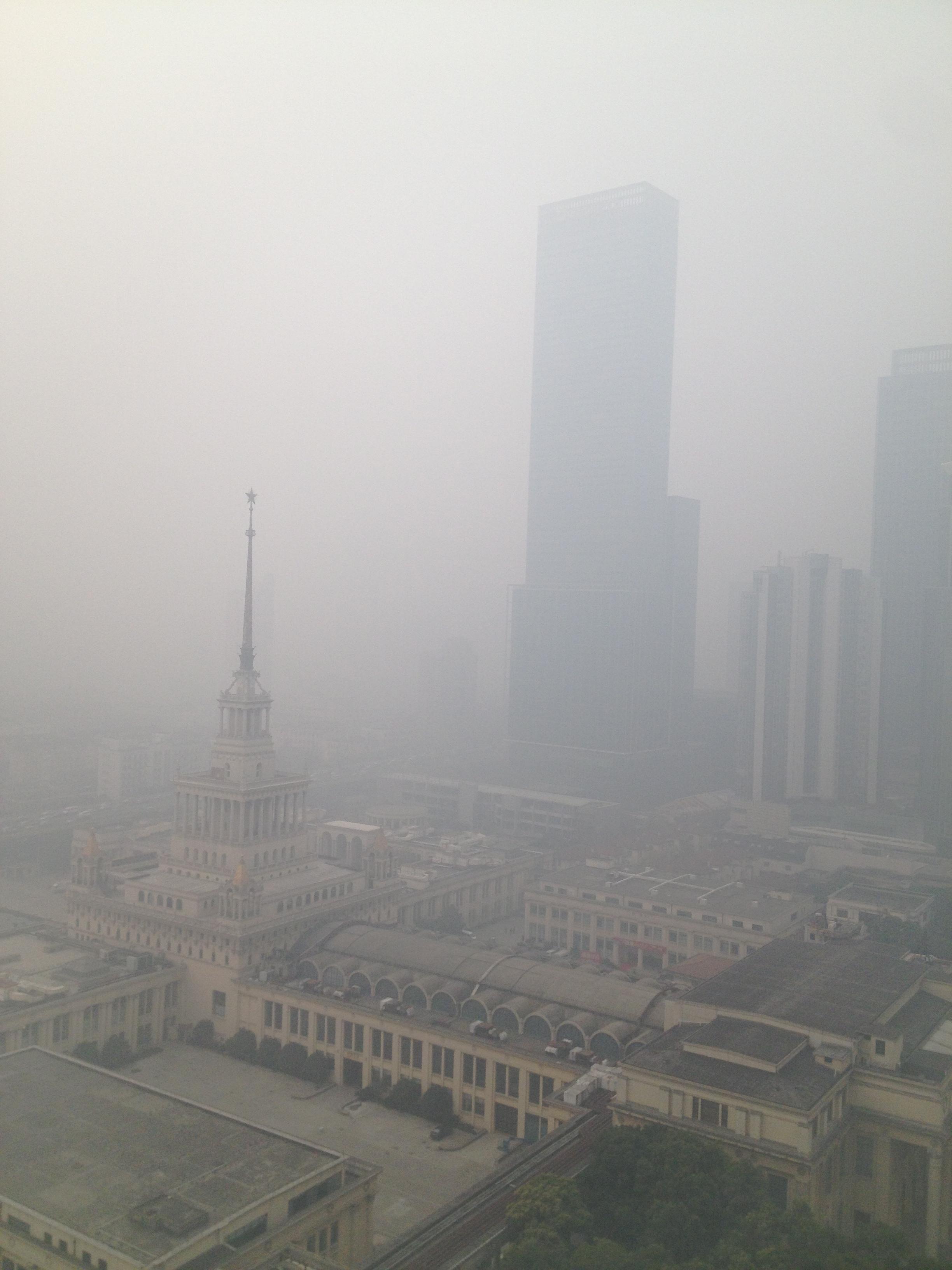 contaminación shanghai