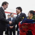 RAJOY EN CHINA