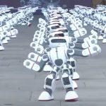 Más de 1000 robots bailando, empresa china consigue un nuevo récord Guinness